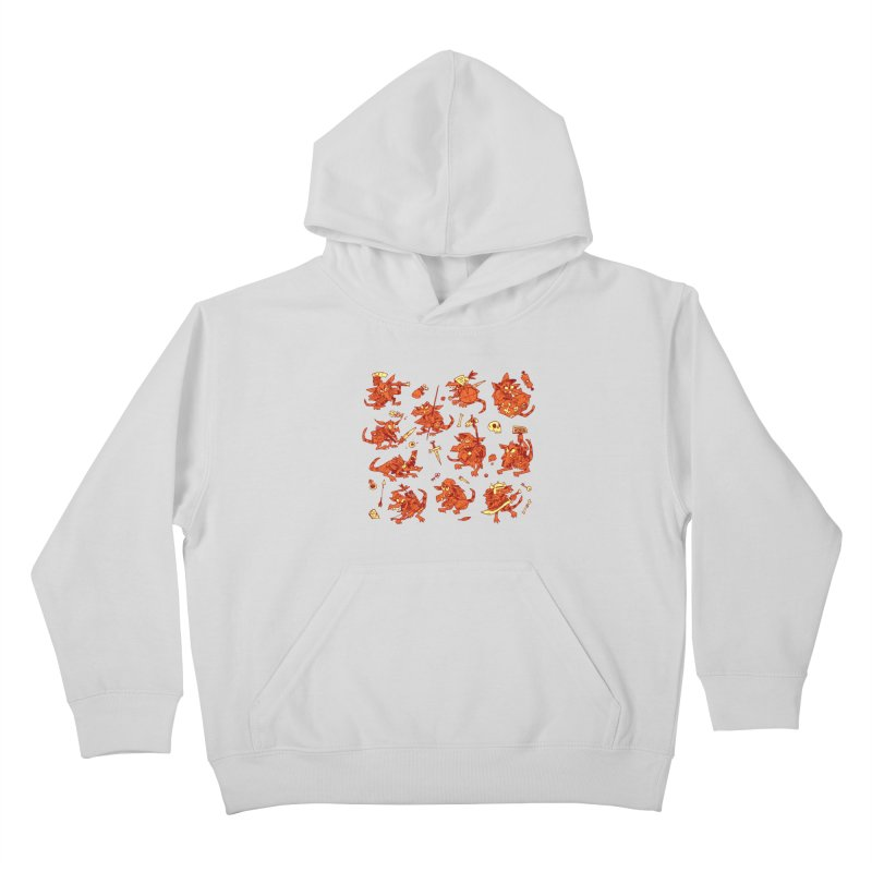Kobold Party Kids Pullover Hoody by Kyle Ferrin's Artist Shop