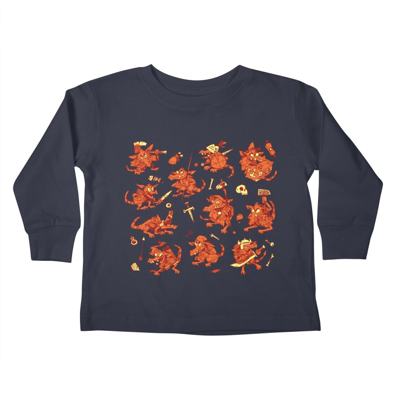 Kobold Party Kids Toddler Longsleeve T-Shirt by Kyle Ferrin's Artist Shop
