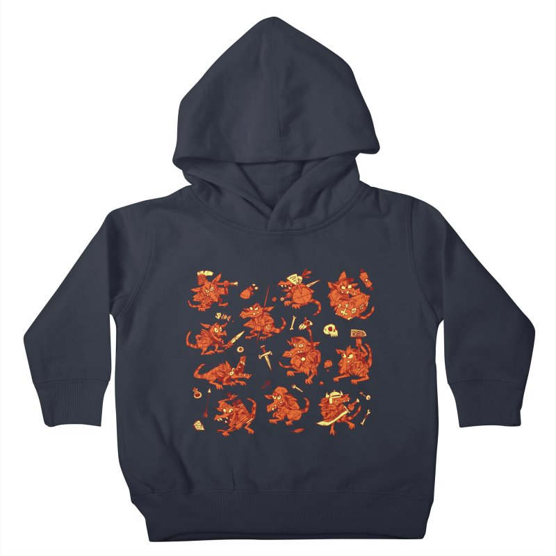 Kobold Party Kids Toddler Pullover Hoody by Kyle Ferrin's Artist Shop
