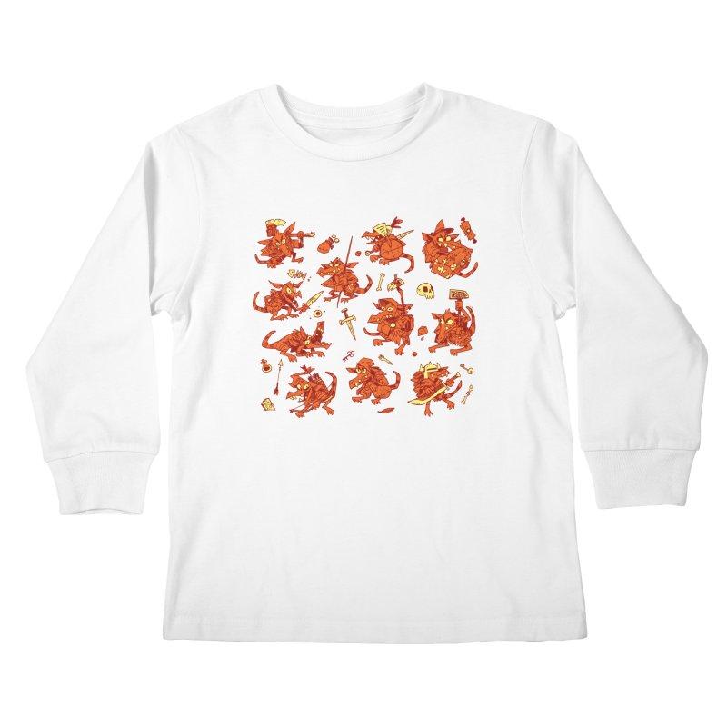 Kobold Party Kids Longsleeve T-Shirt by Kyle Ferrin's Artist Shop