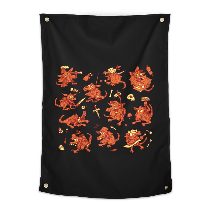Kobold Party Home Tapestry by Kyle Ferrin's Artist Shop