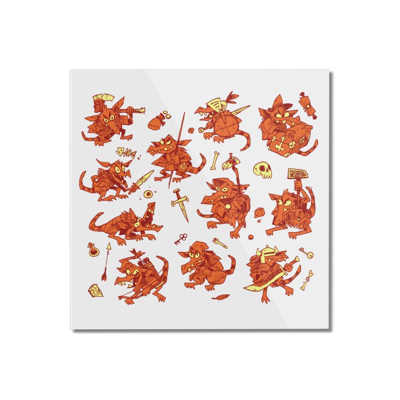 Kobold Party Home Mounted Acrylic Print by Kyle Ferrin's Artist Shop