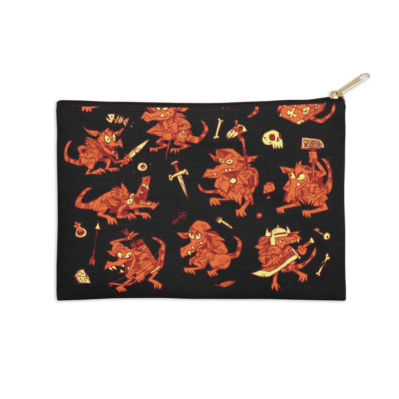 Kobold Party Accessories Zip Pouch by Kyle Ferrin's Artist Shop