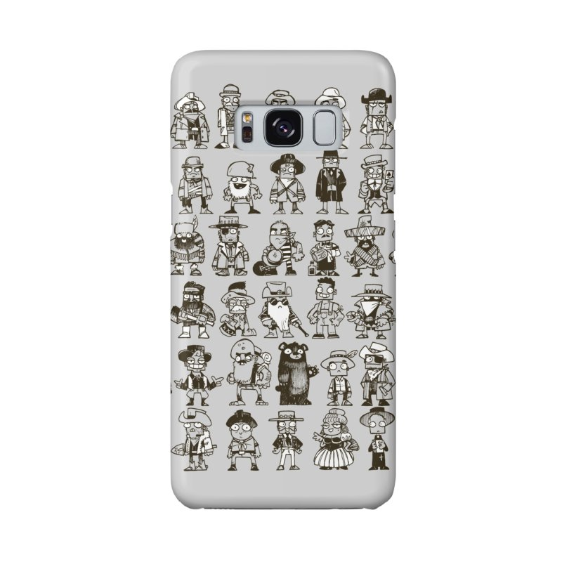 Mostly Cowboys Accessories Phone Case by Kyle Ferrin's Artist Shop