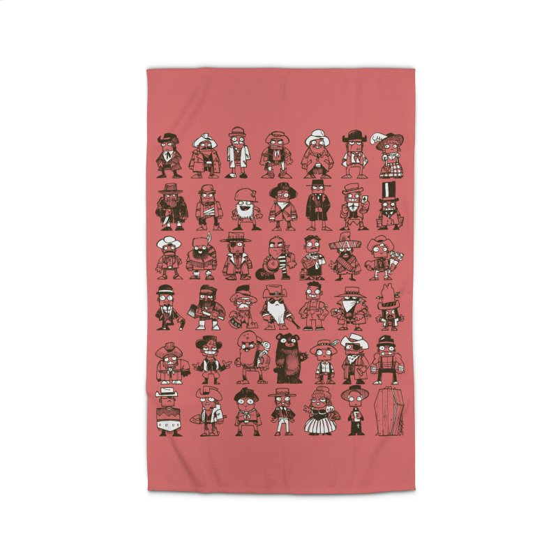 Mostly Cowboys Home Rug by Kyle Ferrin's Artist Shop