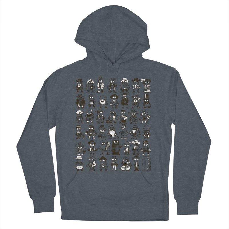 Mostly Cowboys Men's French Terry Pullover Hoody by Kyle Ferrin's Artist Shop