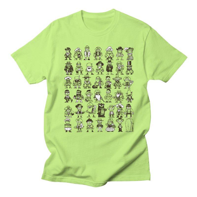 Mostly Cowboys Men's Regular T-Shirt by Kyle Ferrin's Artist Shop
