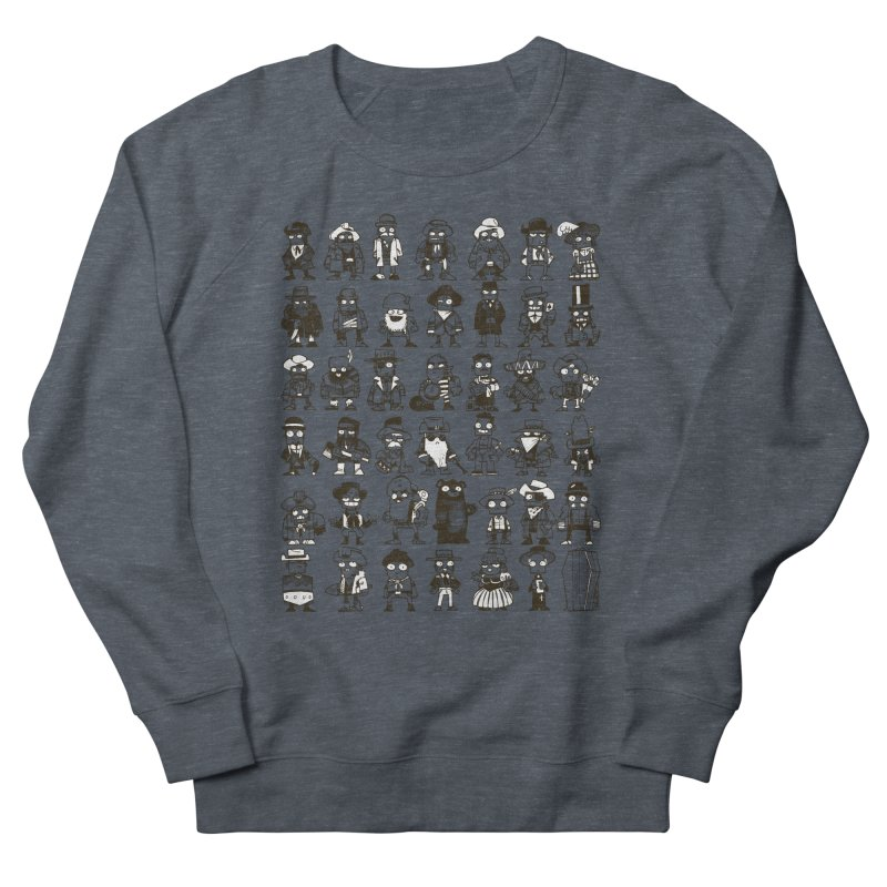 Mostly Cowboys Women's French Terry Sweatshirt by Kyle Ferrin's Artist Shop