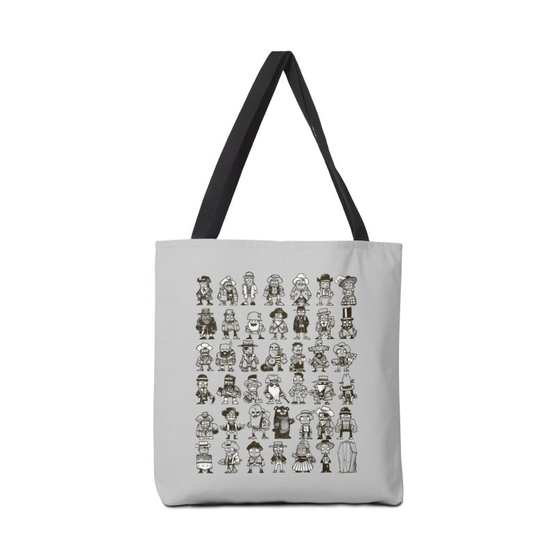 Mostly Cowboys Accessories Tote Bag Bag by Kyle Ferrin's Artist Shop