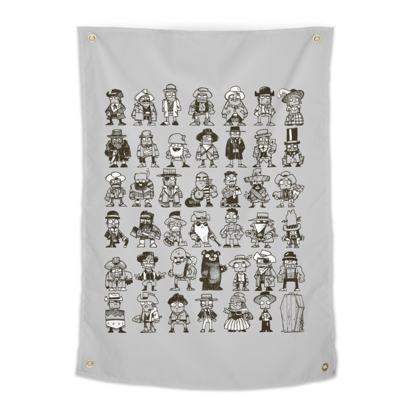Mostly Cowboys Home Tapestry by Kyle Ferrin's Artist Shop