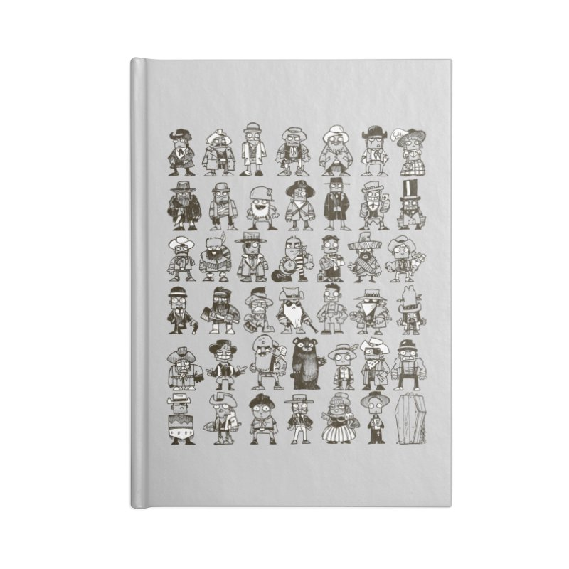 Mostly Cowboys Accessories Lined Journal Notebook by Kyle Ferrin's Artist Shop