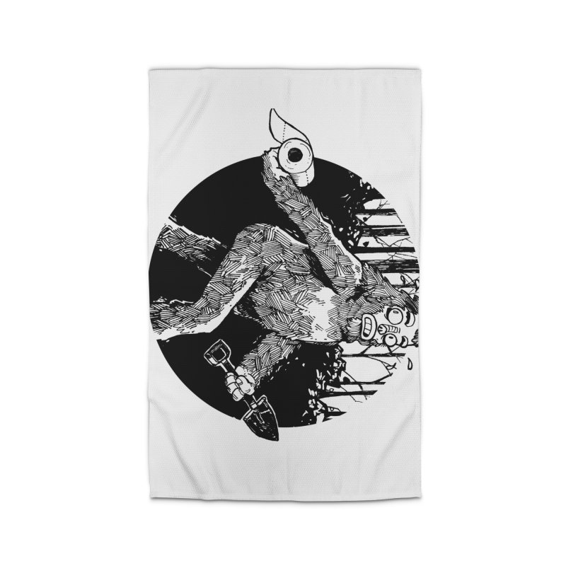 Sasquatch Secret Home Rug by Kyle Ferrin's Artist Shop