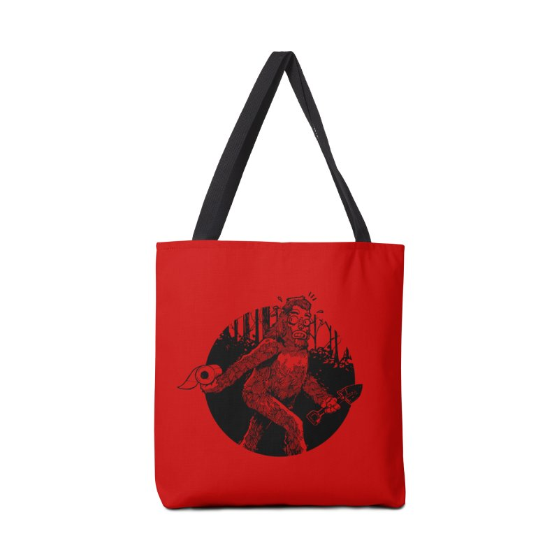 Sasquatch Secret Accessories Bag by Kyle Ferrin's Artist Shop