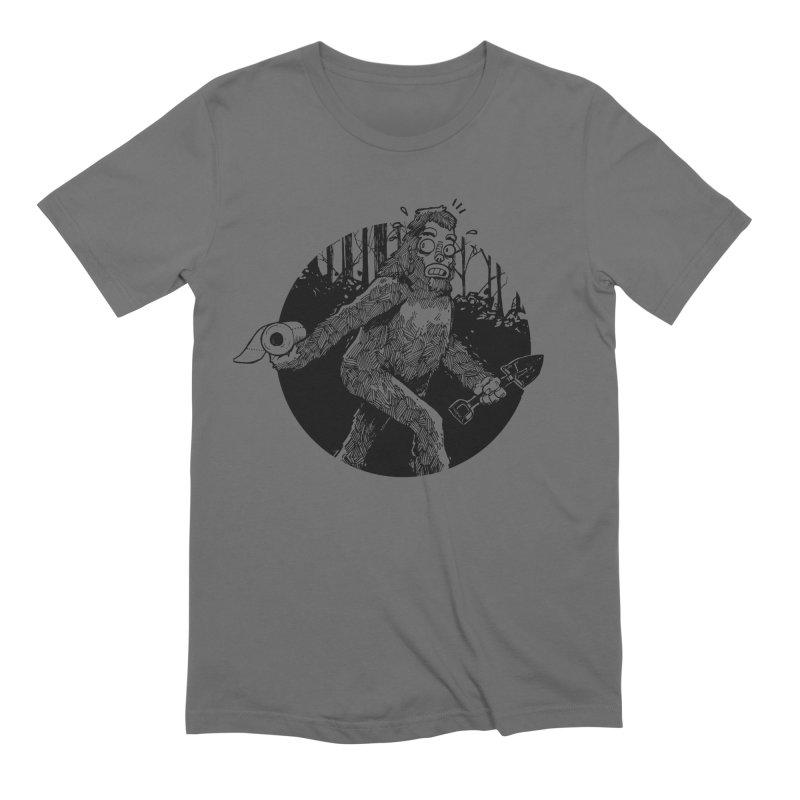 Sasquatch Secret Men's T-Shirt by Kyle Ferrin's Artist Shop