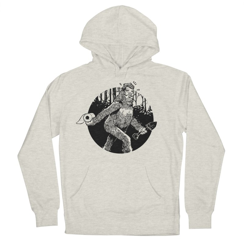 Sasquatch Secret Men's Pullover Hoody by Kyle Ferrin's Artist Shop