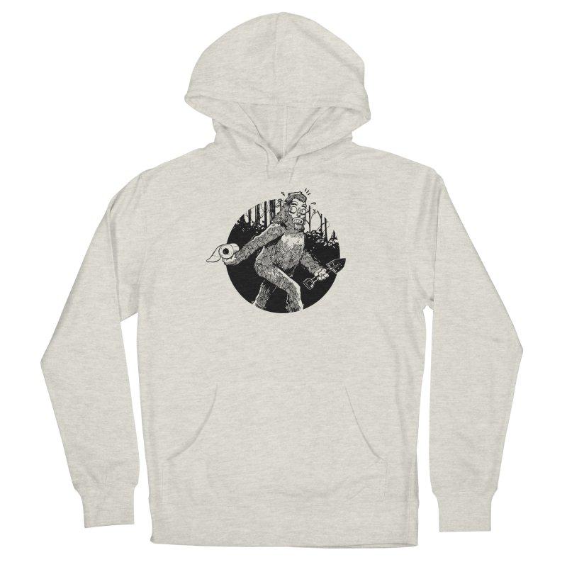 Sasquatch Secret Men's Pullover Hoody by Kyle Ferrin's Artist Shop
