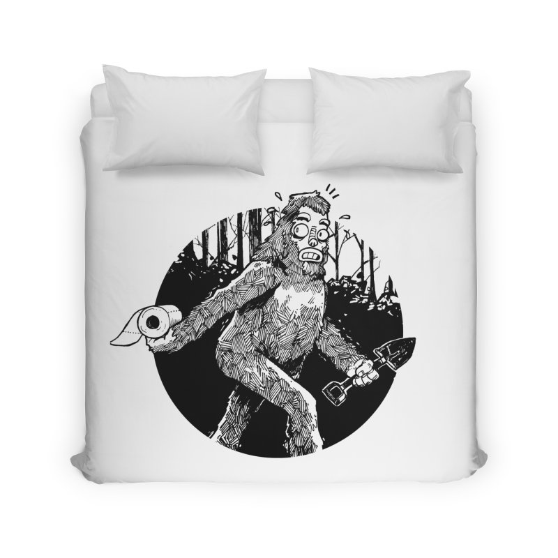 Sasquatch Secret Home Duvet by Kyle Ferrin's Artist Shop