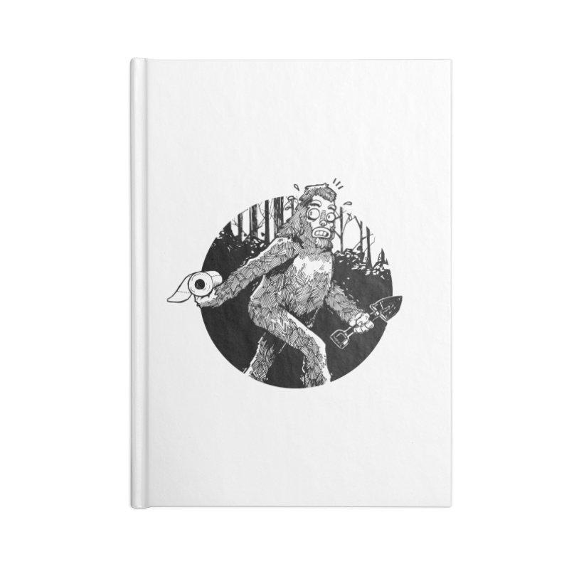 Sasquatch Secret Accessories Notebook by Kyle Ferrin's Artist Shop