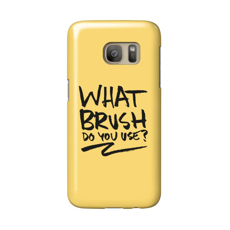 What Brush Do You Use? Accessories Phone Case by Kyle Ferrin's Artist Shop