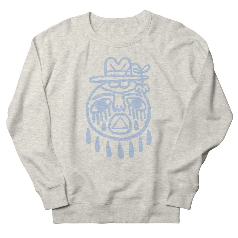 8-Ball Blue Men's French Terry Sweatshirt by Kyle Stecker Illustration