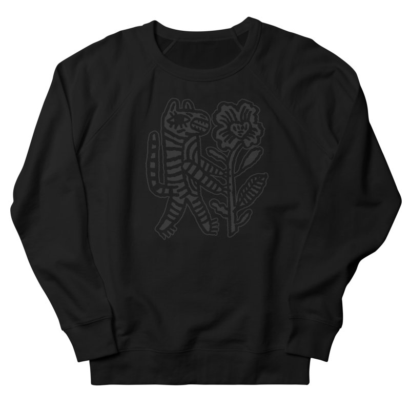 Special Delivery - Off Black on Black Women's Sweatshirt by Kyle Stecker Illustration