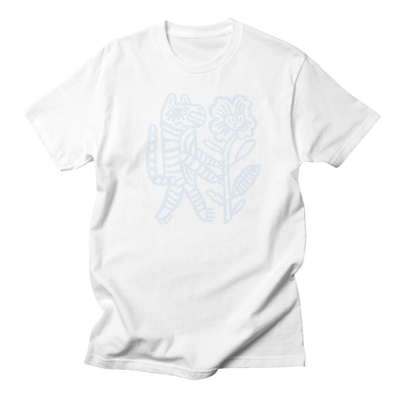 Special Delivery - Light Blue Men's T-Shirt by Kyle Stecker Illustration