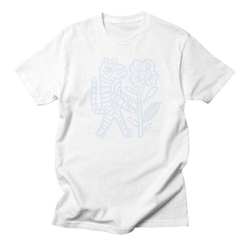 Special Delivery - Light Blue in Men's Regular T-Shirt White by Kyle Stecker Illustration