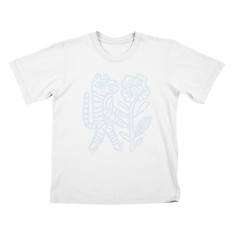 Special Delivery - Light Blue Kids T-Shirt by Kyle Stecker Illustration