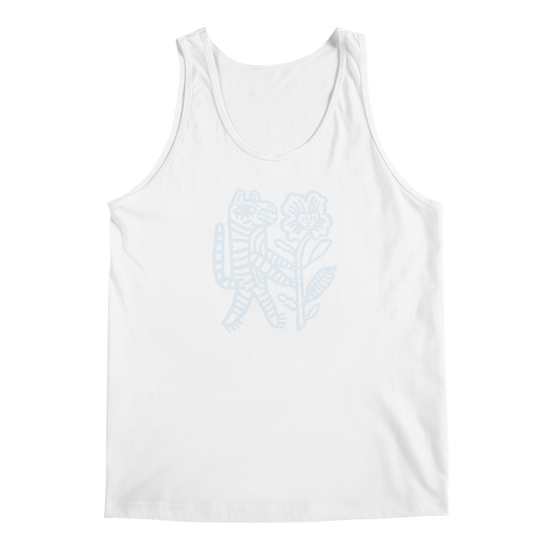 Special Delivery - Light Blue Men's Tank by Kyle Stecker Illustration
