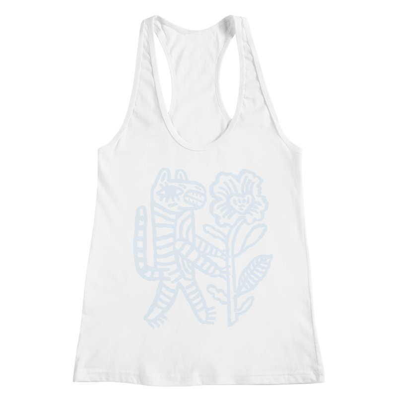 Special Delivery - Light Blue Women's Tank by Kyle Stecker Illustration
