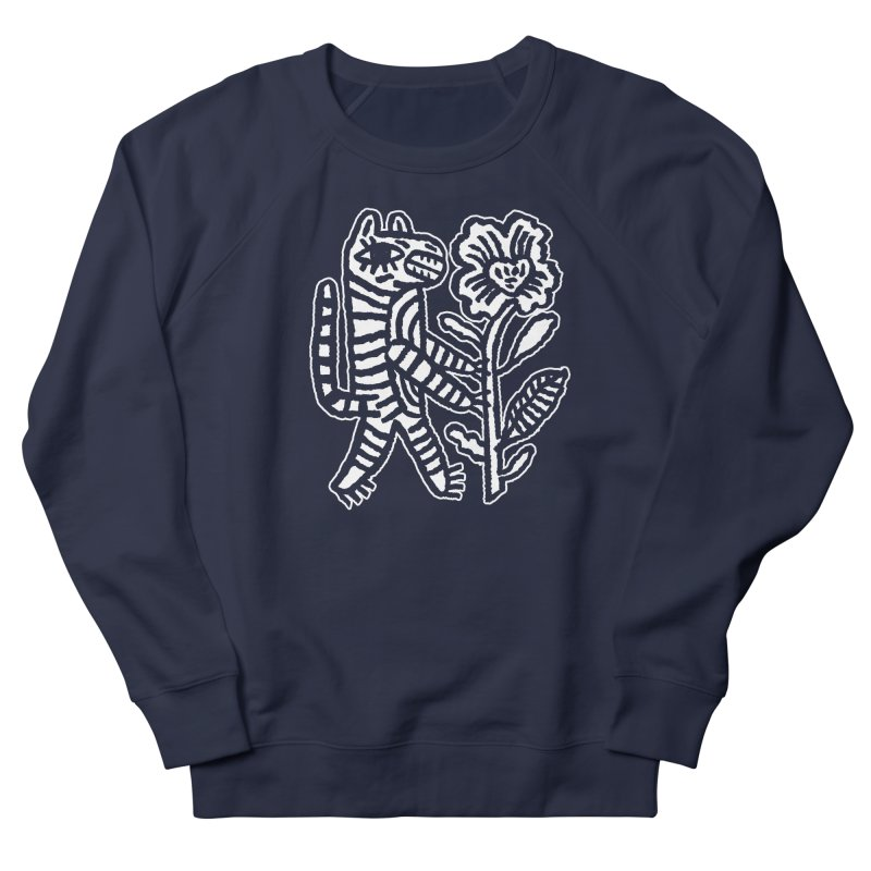 Special Delivery - White Men's French Terry Sweatshirt by Kyle Stecker Illustration