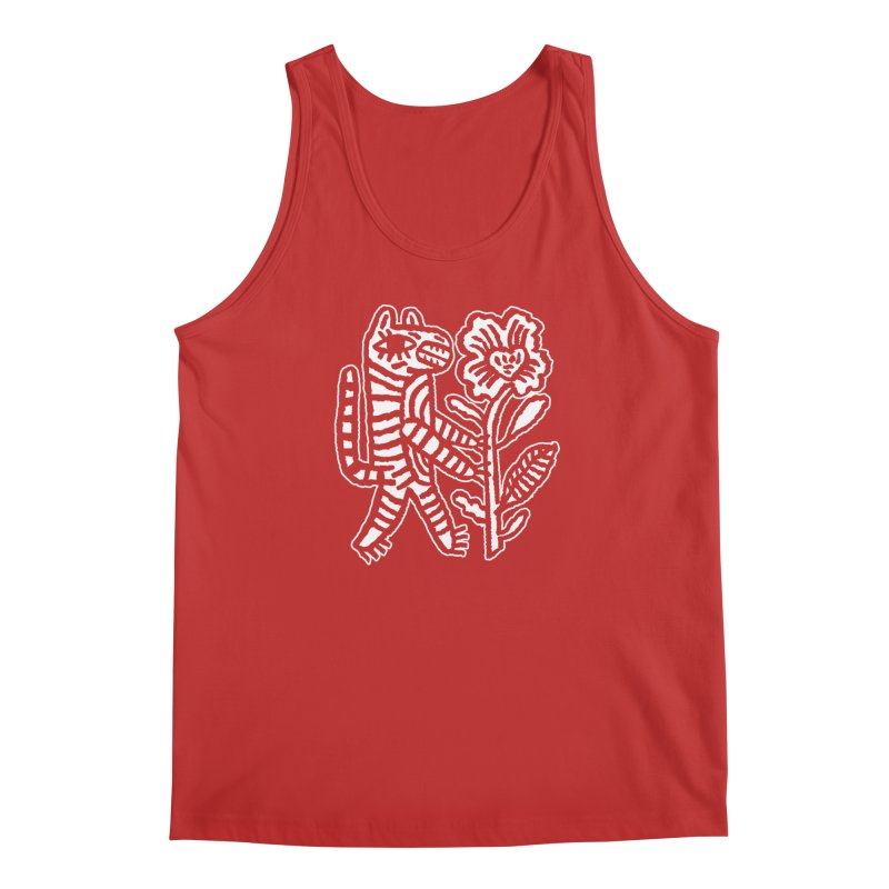 Special Delivery - White Men's Regular Tank by Kyle Stecker Illustration