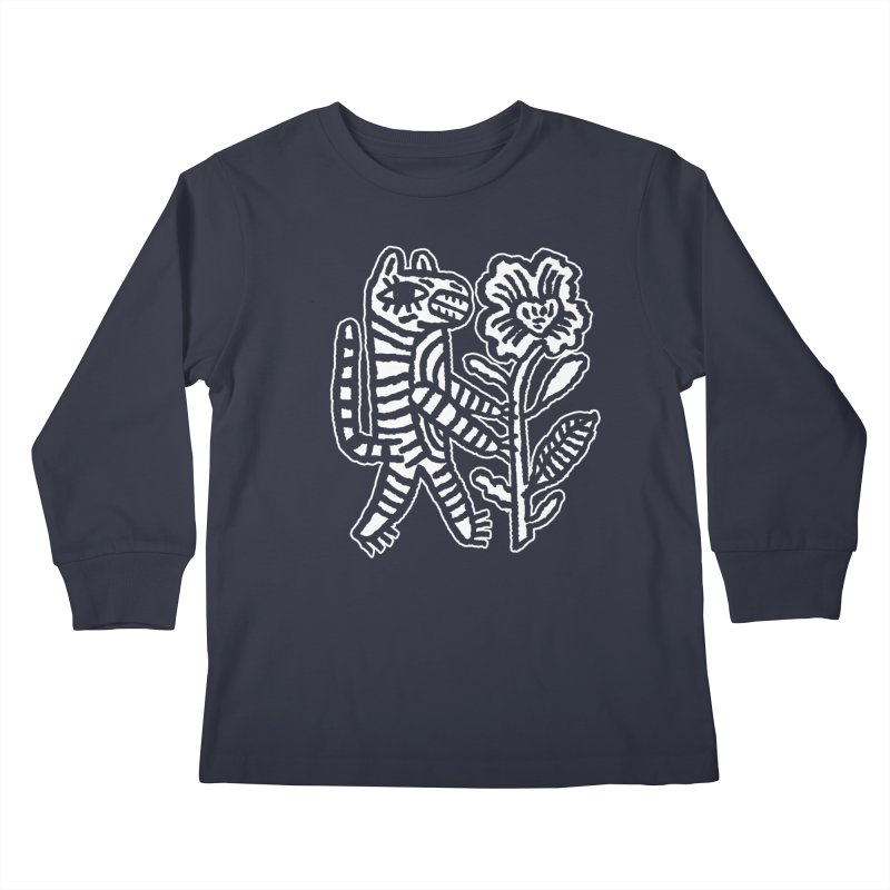 Special Delivery - White Kids Longsleeve T-Shirt by Kyle Stecker Illustration