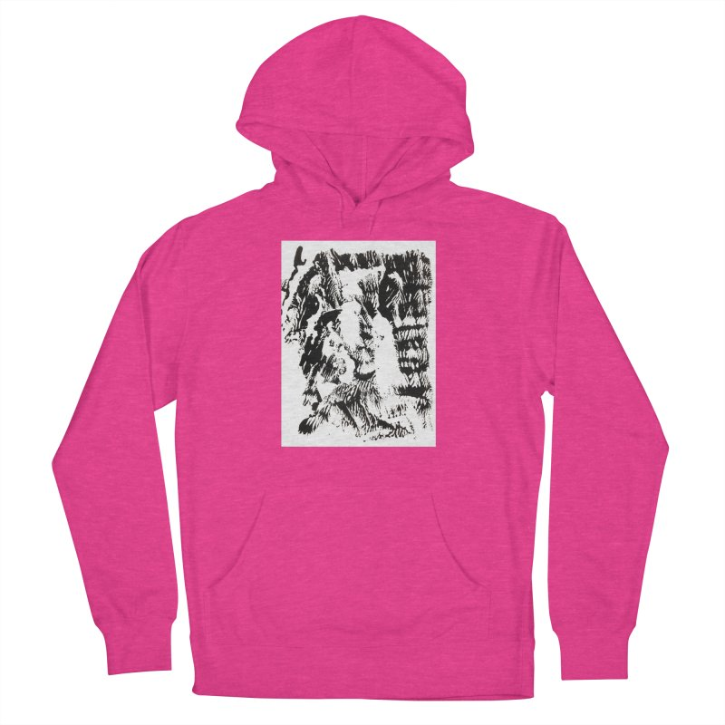Mononoke Women's French Terry Pullover Hoody by kyon's Artist Shop