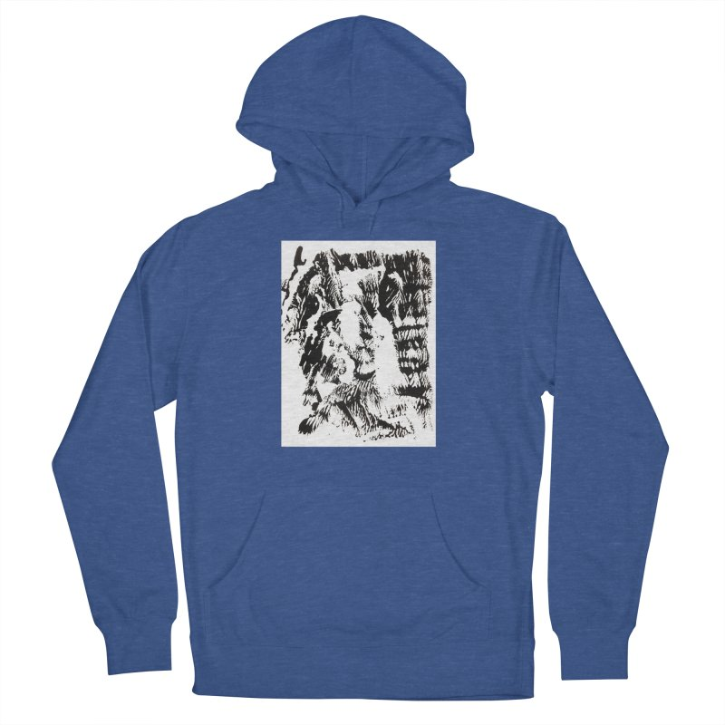Mononoke Men's French Terry Pullover Hoody by kyon's Artist Shop