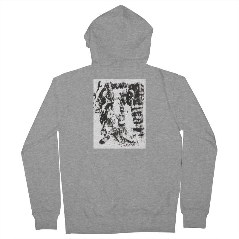 Mononoke Women's French Terry Zip-Up Hoody by kyon's Artist Shop
