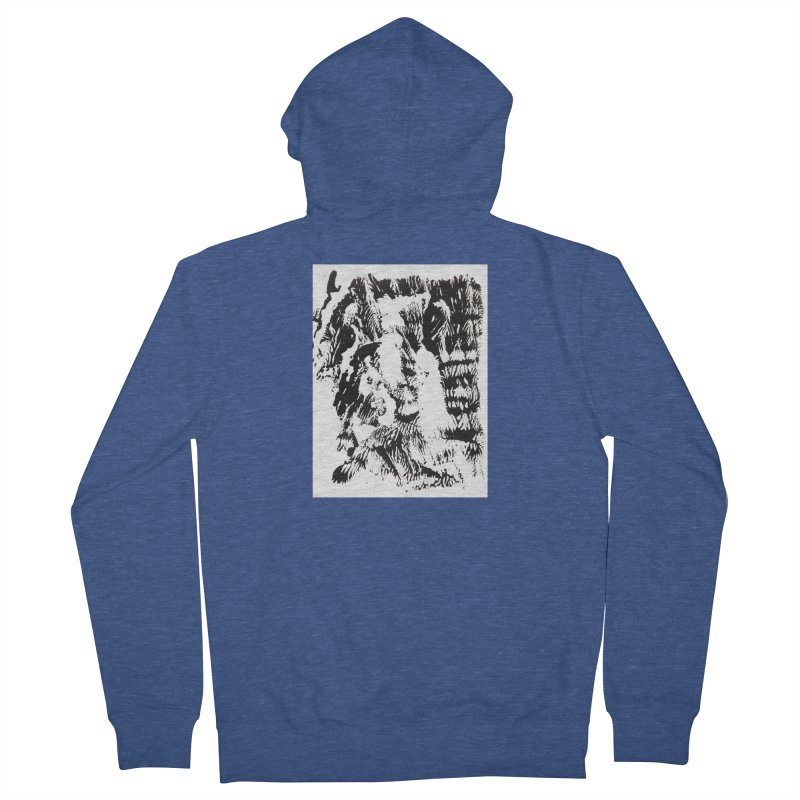 Mononoke Men's French Terry Zip-Up Hoody by kyon's Artist Shop