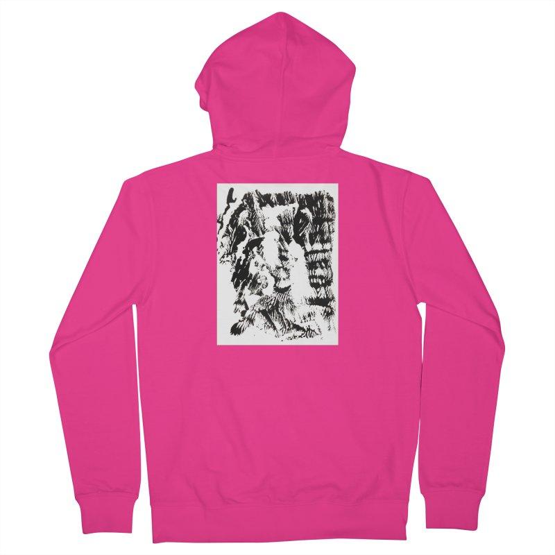 Mononoke Men's French Terry Zip-Up Hoody by kyon's Artist Shop