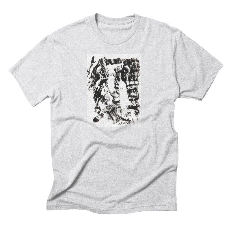 Mononoke Men's Triblend T-Shirt by kyon's Artist Shop