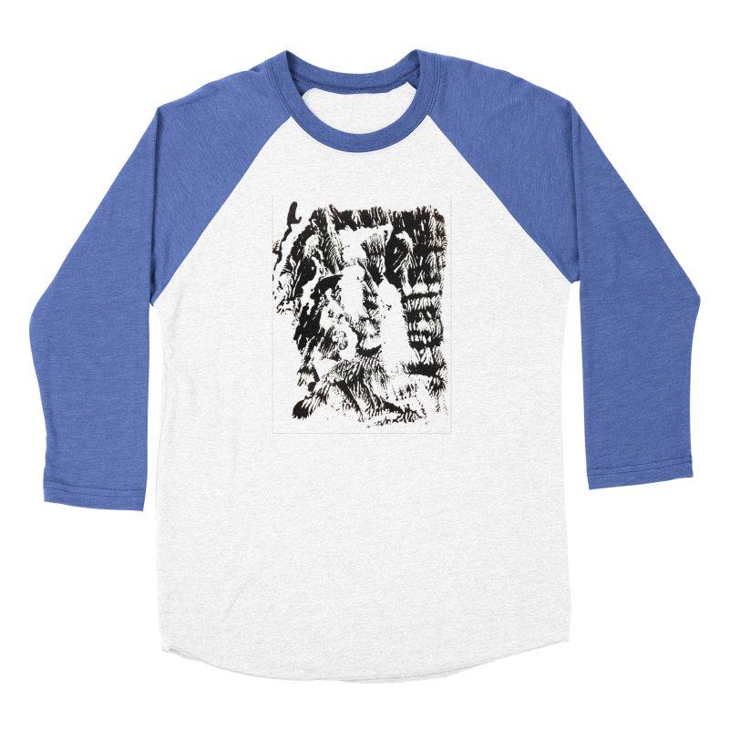 Mononoke Women's Baseball Triblend Longsleeve T-Shirt by kyon's Artist Shop