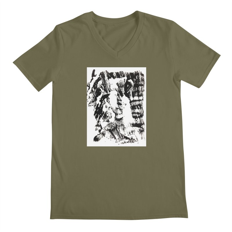 Mononoke Men's V-Neck by kyon's Artist Shop