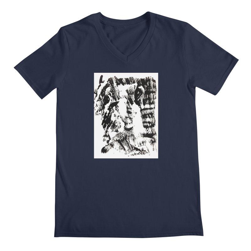 Mononoke Men's Regular V-Neck by kyon's Artist Shop