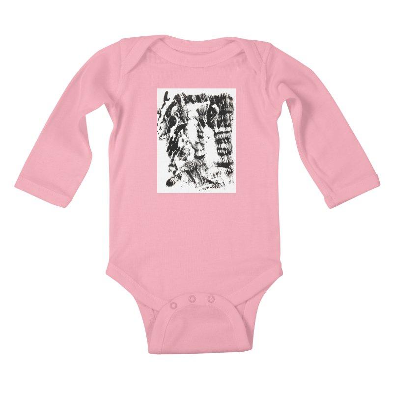 Mononoke Kids Baby Longsleeve Bodysuit by kyon's Artist Shop