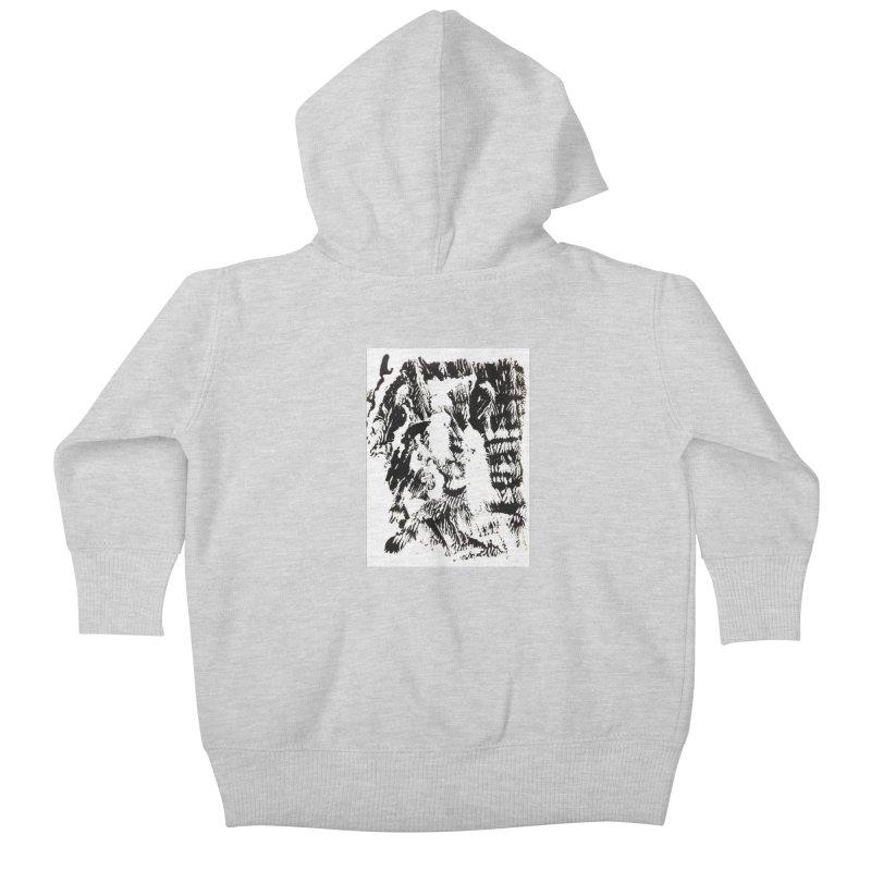 Mononoke Kids Baby Zip-Up Hoody by kyon's Artist Shop