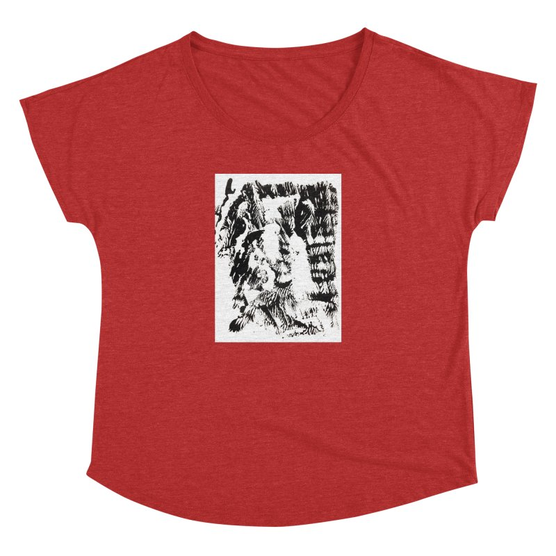 Mononoke Women's Dolman Scoop Neck by kyon's Artist Shop