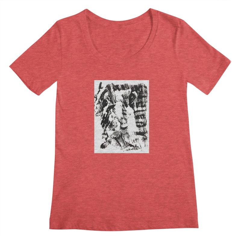 Mononoke Women's Scoopneck by kyon's Artist Shop