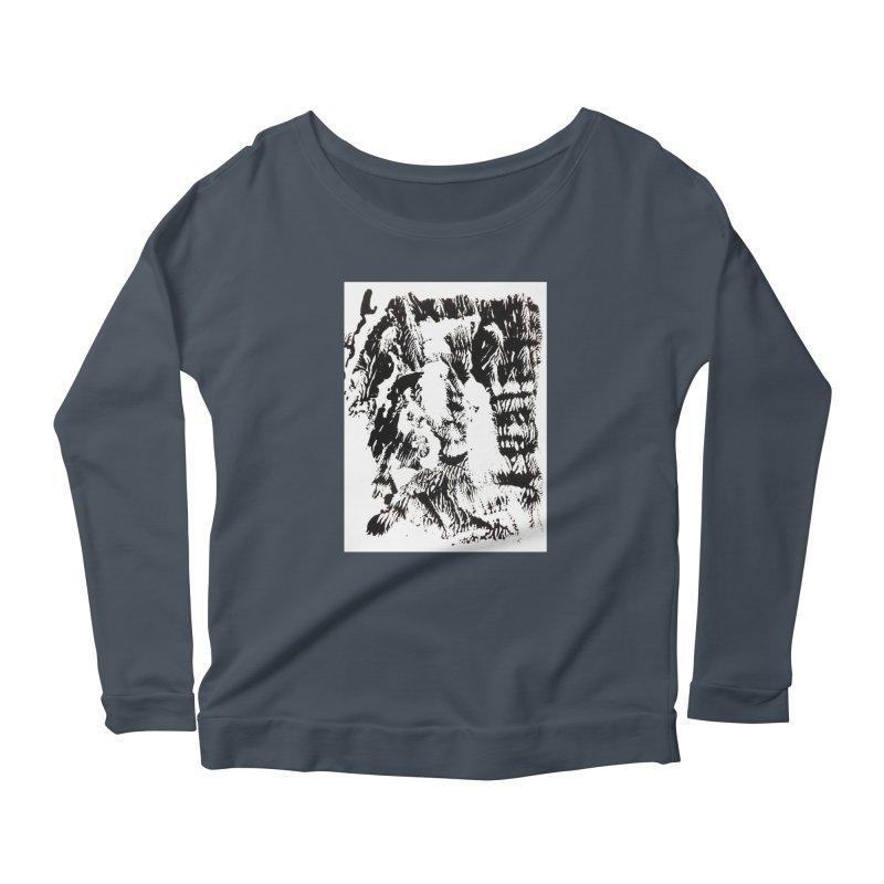 Mononoke Women's Longsleeve Scoopneck  by kyon's Artist Shop