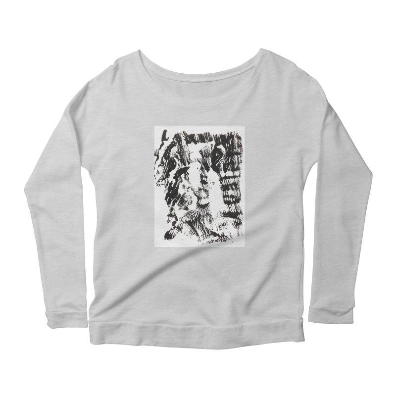 Mononoke Women's Scoop Neck Longsleeve T-Shirt by kyon's Artist Shop