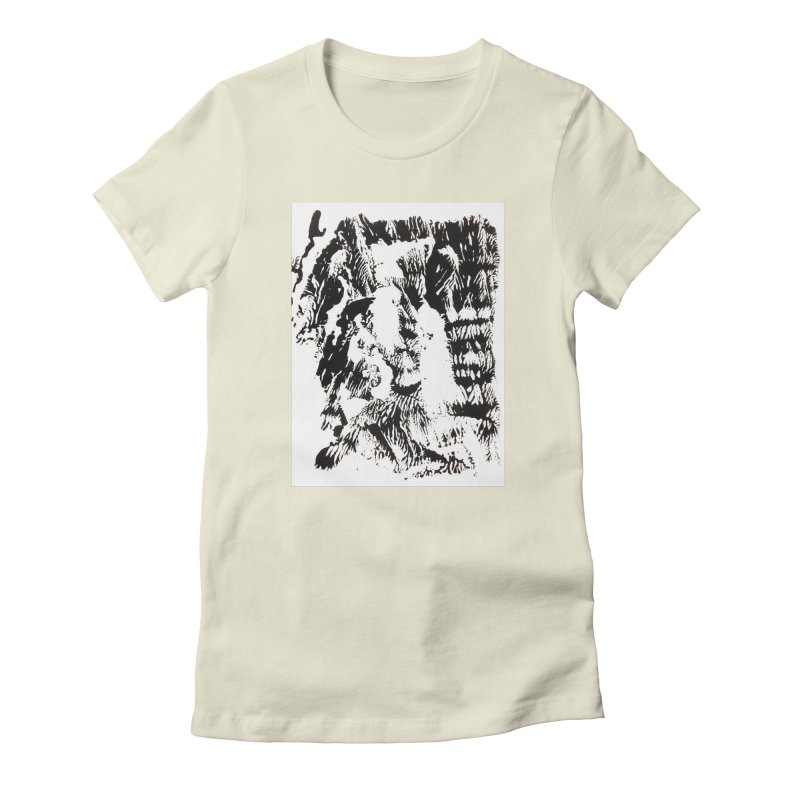 Mononoke Women's Fitted T-Shirt by kyon's Artist Shop