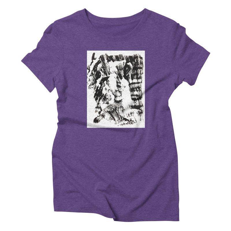 Mononoke Women's Triblend T-Shirt by kyon's Artist Shop